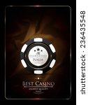 casino background vintage style ... | Shutterstock .eps vector #236435548