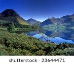 Wastwater  The Lake District  Uk