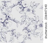 seamless floral pattern with a... | Shutterstock .eps vector #236447140