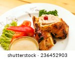 meat with vegetables | Shutterstock . vector #236452903