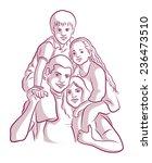 outline illustration   Shutterstock .eps vector #236473510