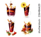 Hot Red Mulled Wine For - Fine Art prints