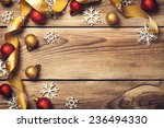 christmas background with... | Shutterstock . vector #236494330