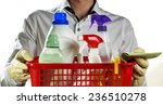 household with cleaning...   Shutterstock . vector #236510278