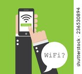 wifi icon   Shutterstock .eps vector #236530894