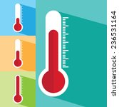 thermometers icon | Shutterstock .eps vector #236531164