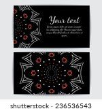 round vector ornament. circle... | Shutterstock .eps vector #236536543