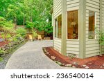 walkout patio with sitting area ... | Shutterstock . vector #236540014
