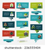 space banner flat design...