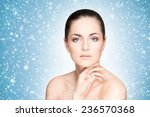 spa portrait of young and... | Shutterstock . vector #236570368