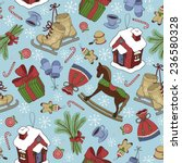 merry christmas texture...   Shutterstock .eps vector #236580328