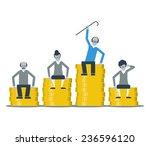 pension savings   Shutterstock .eps vector #236596120