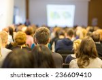 business conference and... | Shutterstock . vector #236609410