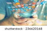 social media concept.  | Shutterstock . vector #236620168