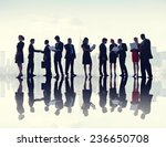 business people discussion... | Shutterstock . vector #236650708