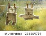 Stock photo christmas laundry 236664799