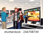 a vector illustration of a... | Shutterstock .eps vector #236708734