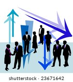 business people and arrow | Shutterstock .eps vector #23671642