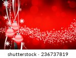 beautiful colorful xmas... | Shutterstock . vector #236737819