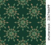 seamless pattern with abstract... | Shutterstock .eps vector #236746699