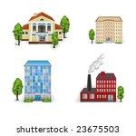 buildings | Shutterstock . vector #23675503