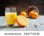 Oranges Isolated Cut Set On...