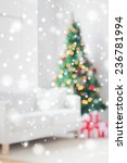 holidays  celebration and home... | Shutterstock . vector #236781994