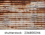 Rusted Metal Corrugated Metal...
