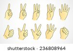 hand | Shutterstock .eps vector #236808964