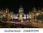 chhatrapati shivaji terminus ... | Shutterstock . vector #236839294