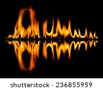 fire abstract and flames shapes ...   Shutterstock . vector #236855959