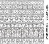 seamless pattern geometric... | Shutterstock .eps vector #236859388