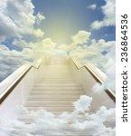 White Stairway To Heaven...
