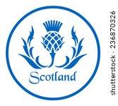 Floral Emblem Of Scotland  The...