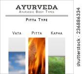 ayurveda vector illustration.... | Shutterstock .eps vector #236886334