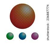 vector graphic illustration set ... | Shutterstock .eps vector #236887774