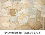Old Letters  Handwritings ...