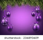 Abstract Background With Purple ...