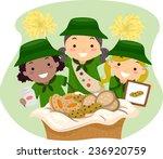 illustration of girl scouts... | Shutterstock .eps vector #236920759