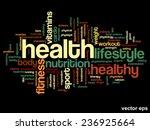 vector concept or conceptual... | Shutterstock .eps vector #236925664