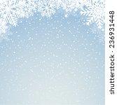 winter background | Shutterstock .eps vector #236931448