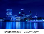 London City Skyline From The...