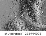 Black And White Water Drops...