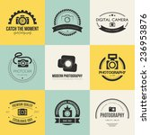 vector collection of... | Shutterstock .eps vector #236953876