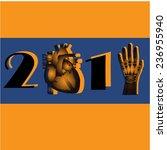 new year symbol  medicine | Shutterstock .eps vector #236955940