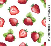 seamless pattern  watercolor... | Shutterstock .eps vector #236968396
