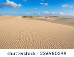 Waves On Sand Dunes  In Chaves...