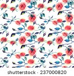 seamless watercolor pattern... | Shutterstock .eps vector #237000820