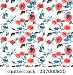 seamless watercolor pattern... | Shutterstock .eps vector #237000820