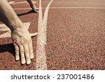 hands on starting line  | Shutterstock . vector #237001486